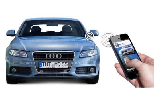 Tylko na zewnątrz Smartfony przejmą też panowanie nad naszymi samochodami | PABLIK KH63