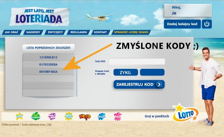 Loteriada Lotto Kod Promocyjny 2020 - Jak odebra i wpisa?