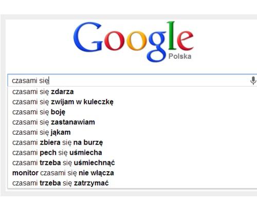 Wiersze Z Google A Taka Nowa Internetowa Zabawa