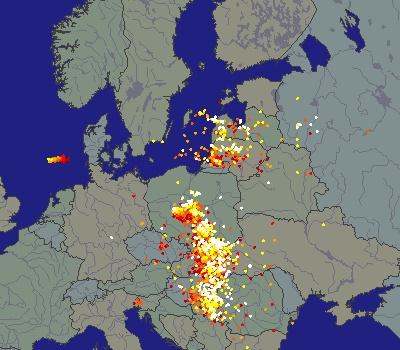Burze W Polsce Na Zywo Interaktywne Mapy Pablik Pl Dziennik